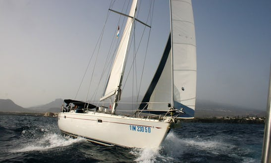 Luxury Tours Around Balearic Island Aboard Beneteau First 50 Sailboat