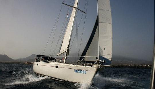 Luxury Tours Around Balearic Island Aboard Beneteau First 50 Sailboat