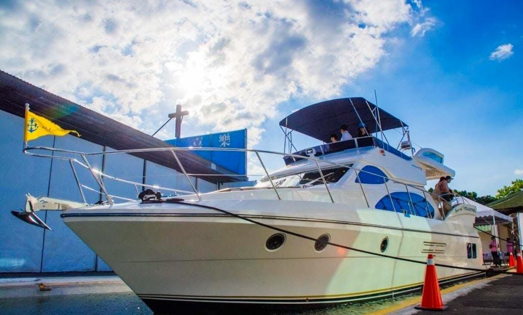 Charter Novatec Motor Yacht in Taoyuan, Taiwan