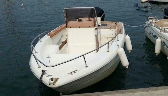 Rent A Center Console And Go Fishing In La Spezia, Italy