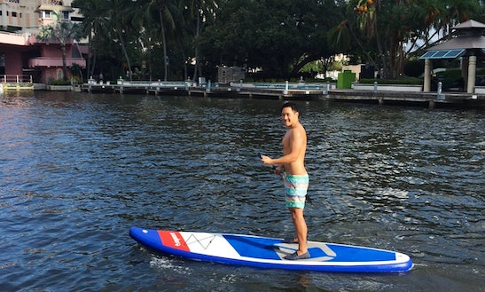 Paddleboard For Rent In Fort Lauderdale