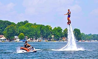 Book A Flyboarding Training And Lessons  In Clarklake, Michigan
