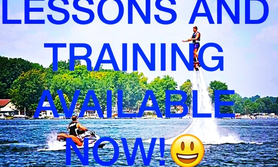 Flyboarding & Jetpacking Water Parties For Rent On Round Lake