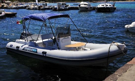 21ft Capelli Tempest 625 Rib Boat Rental In Asinara, Italy
