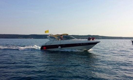 Charter The 39ft Cranchi Endurance Motor Yacht In Lucija, Slovenia