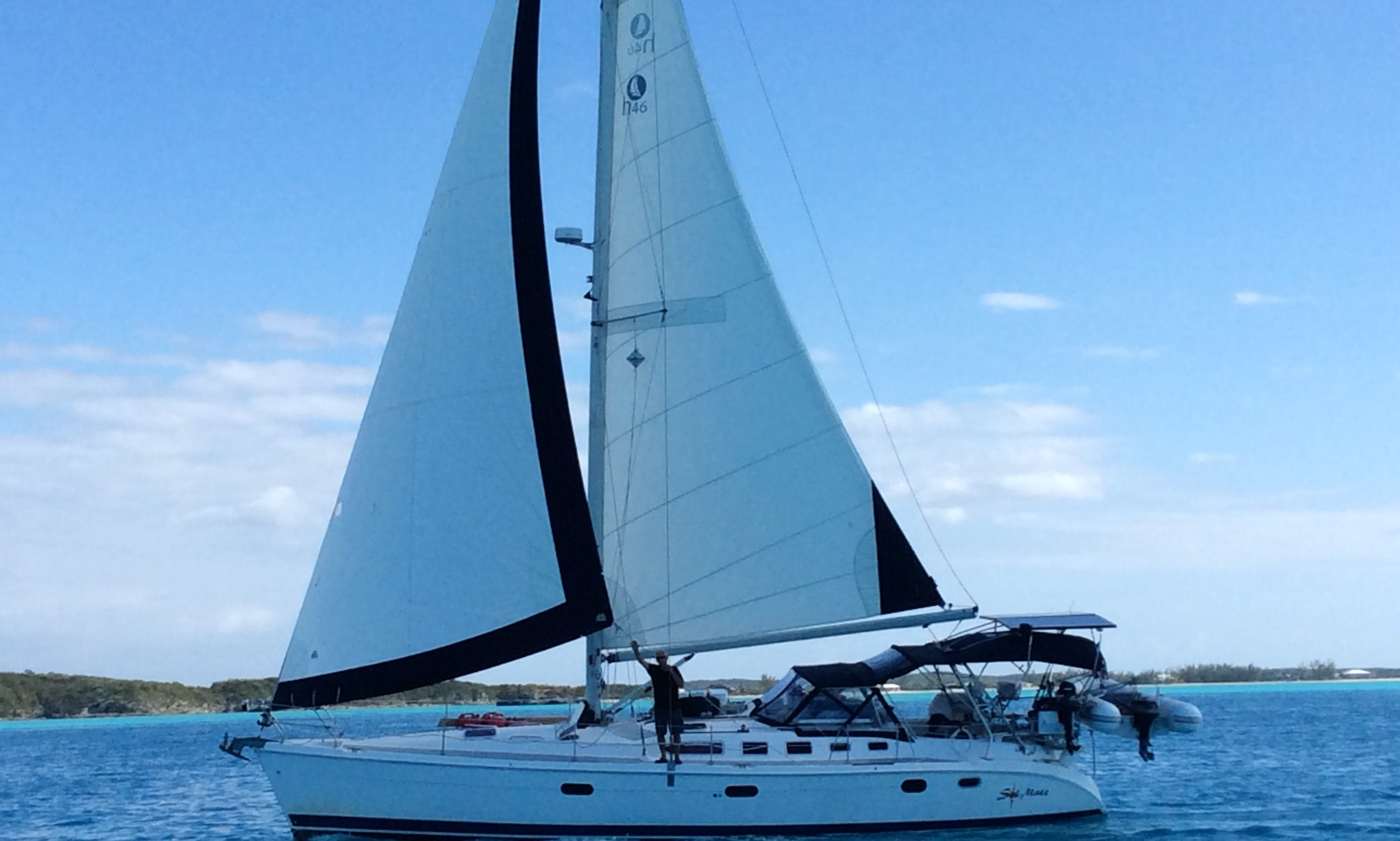 "Charter the sailing yacht ""Sol Mate"" Providence,  Narragansett Bay, Newport RI and the Islands"