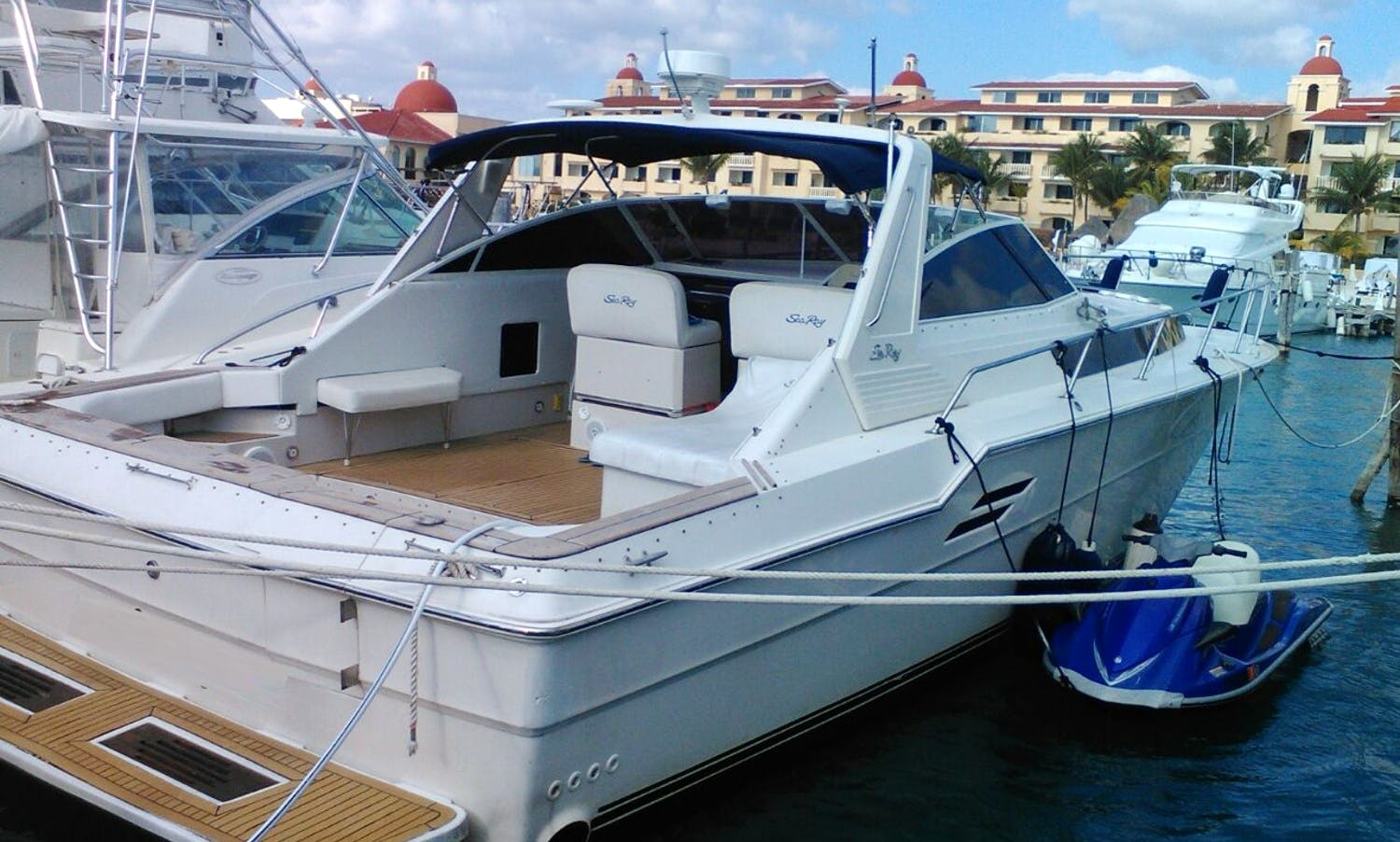 Charter Sea Ray 46 Motor Yacht From Cancun, Quintana Roo