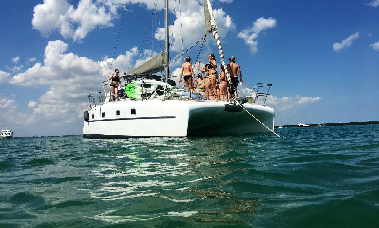Catviar 35 Foot Sailing Catamaran In Miami Getmyboat