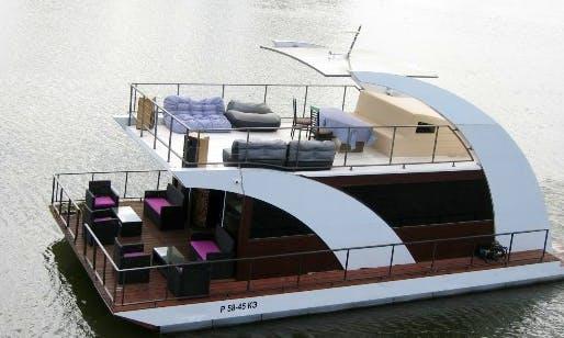 44' Plavdom Houseboat Rental In Samara, Russia