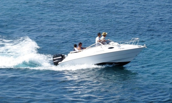 Rent 17' Bowrider In San Ġiljan, Malta