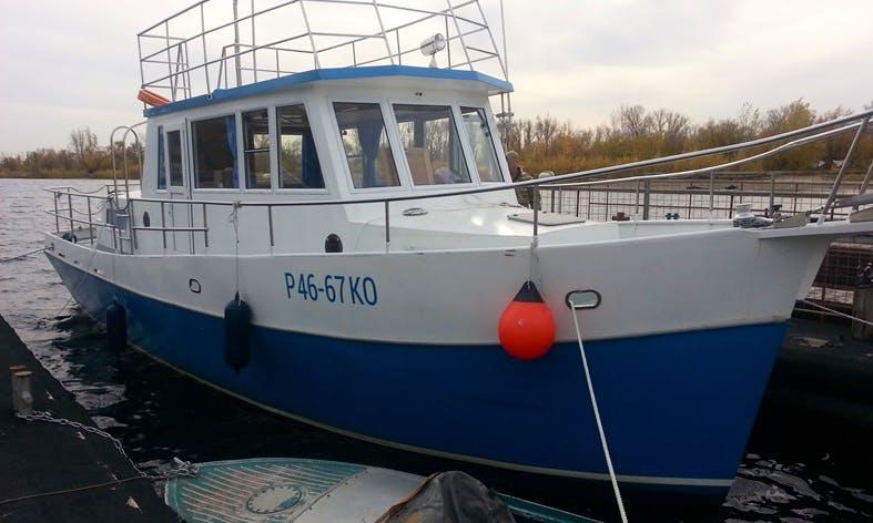 """Enjoy Samara, Russia On """"Amador"""" Trawler"""