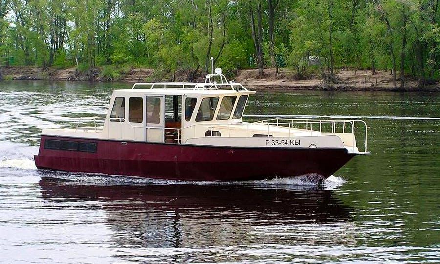 """Charter """"The Rock"""" Trawler In Samara, Russia"""