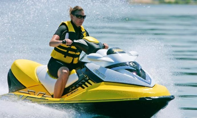 Enjoy Samara, Russia On SeaDoo Jet Ski