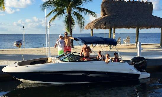 Ride The 24ft Bowrider In Key Largo, Florida