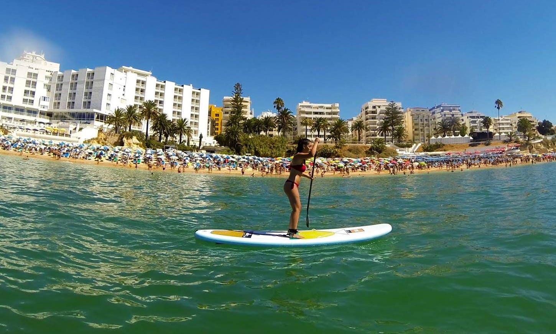 Rent Stand Up Paddle board and Tours in Armação de Pêra, Algarve, Portugal