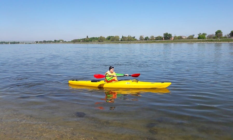 Rent a Single Kayak in Dunabogdány, Hungary
