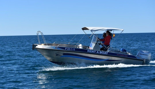 Powerboat With 135 Hp For Rent In Altea, Spain