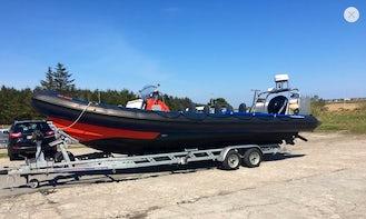 Enjoy Vatersay, Scotland on Per Mare Rigid Inflatable Boat