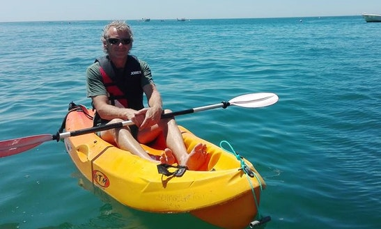 Rent A Single Kayak And Tours In Armação De Pêra, Algarve, Portugal