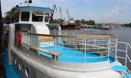 "Enjoy Samara, Russia On ""Brig"" Passenger Boat"