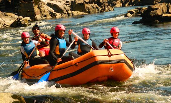 Enjoy Rafting In Melgaço, Portugal