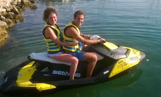 Rent A Seadoo Jet Ski In Għajnsielem, Malta For 2 Person