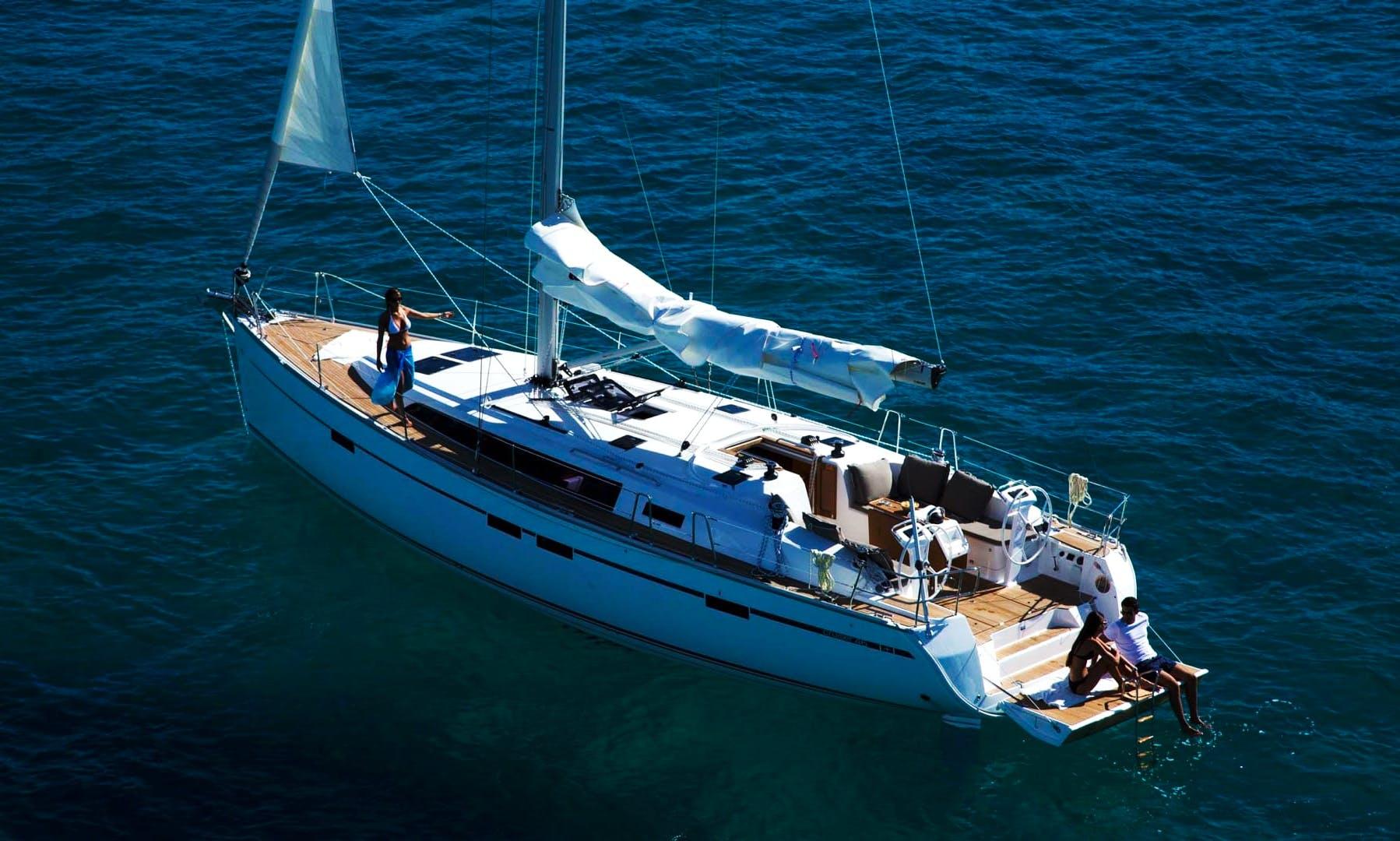 Charter 47' Bavaria Cruising Monohull in Ponta Delgada, Portugal