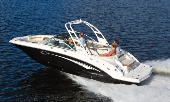 Rent The Chaparral 264 Sunesta Bowrider In Cape Coral, Florida