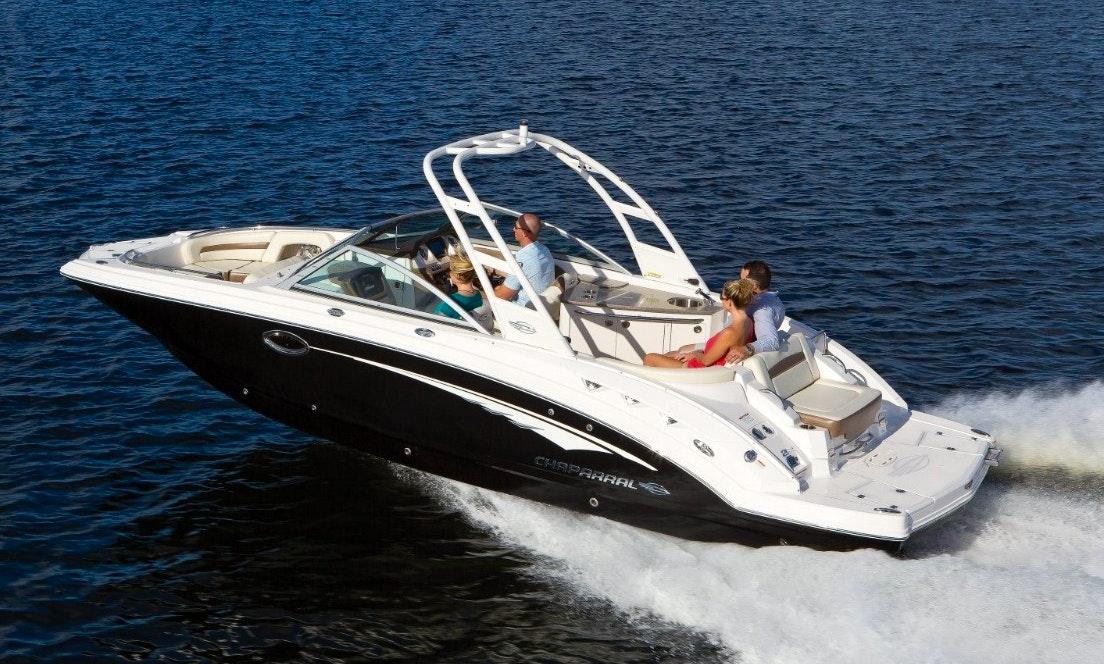 Rent the Chaparral 264 Sunesta Bowrider in Cape Coral