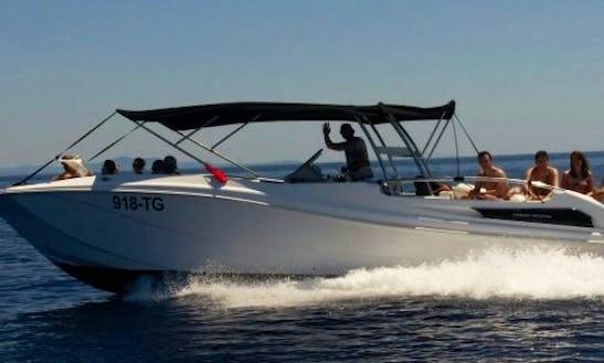 Enjoy The Marcan 34 Private Speedboat In Split, Croatia