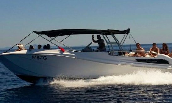 Enjoy The Marcan 34 Private Speedboat In Split, Croatia