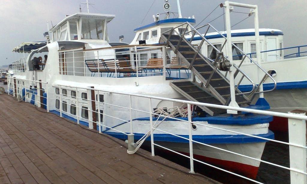 "Charter ""PT-15"" Passenger Boat In Samara, Russia"