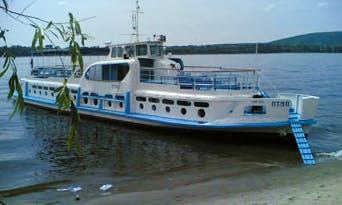 "Charter ""PT-90"" Passenger Boat In Samara, Russia"