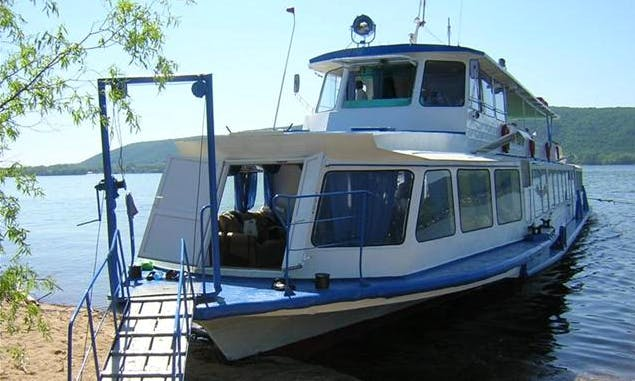"Enjoy Samara, Russia On ""Irisha"" Passenger Boat"