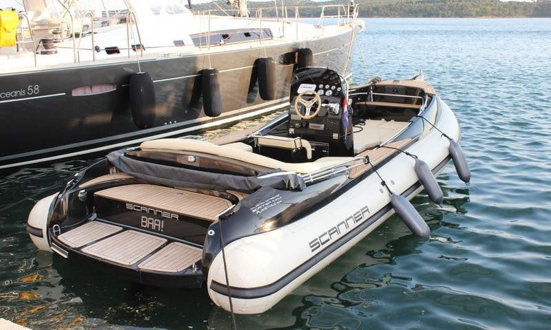7' Scanner Envy RIB Rental In Split, Croatia