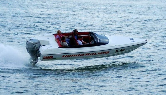 Honda Raceboat Experience In Southampton, England