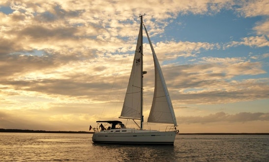 Private Luxury Sailing Charter On 37' Beneteau Sailboat In Seabrook Island