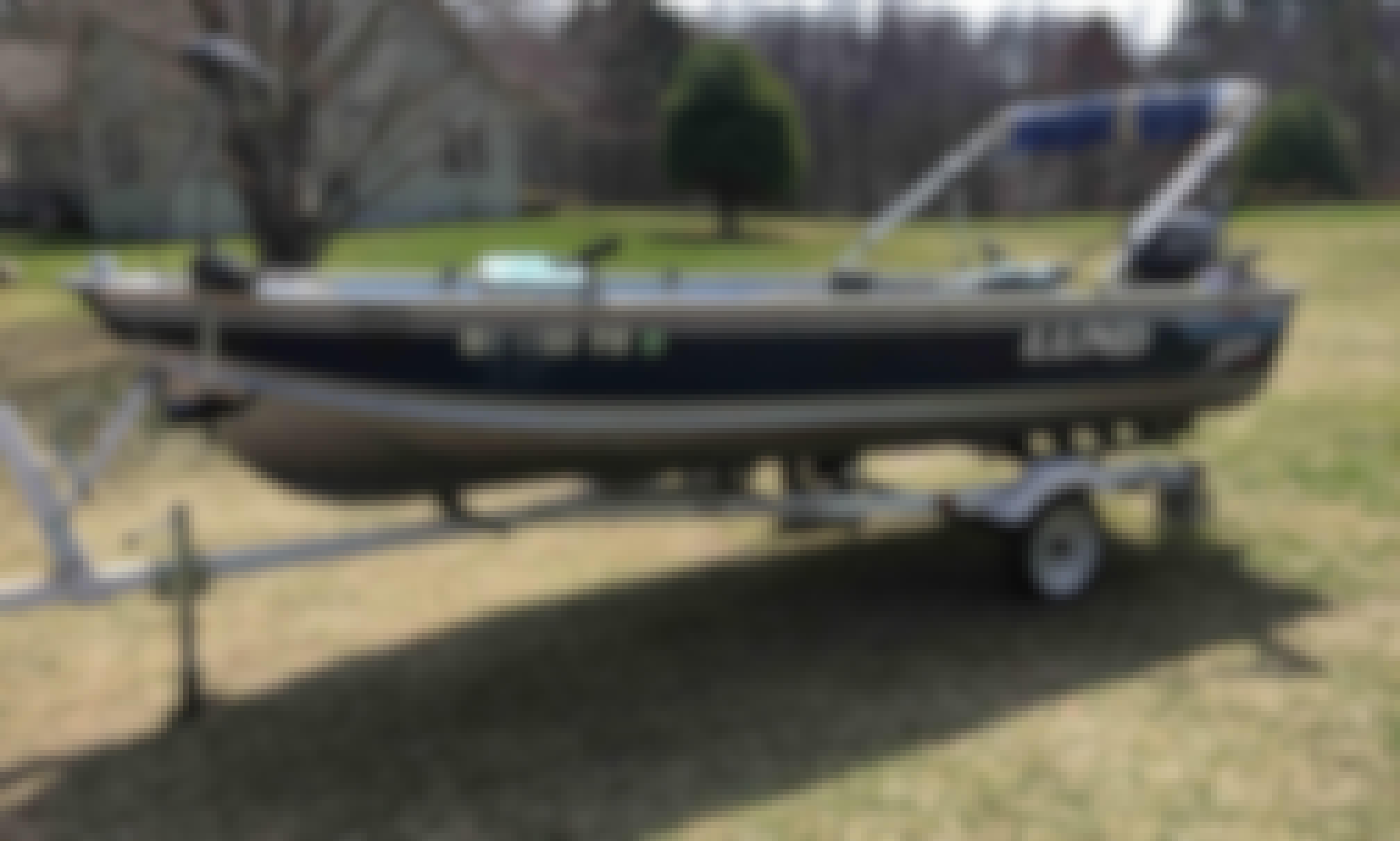 Enjoy Pentwater, Michigan On Bass Boat