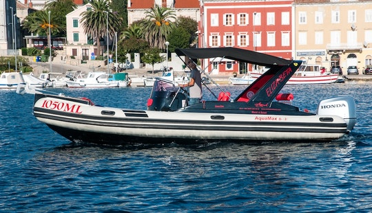 Rent 25' Aquamax 23 Rigid Inflatable Boat In Mali Lošinj, Croatia