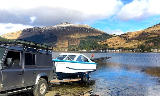 Hire 22' Cuddy Cabin In Lochgoilhead, Scotland