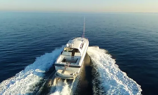 Charter 71' Leopard Sports Power Mega Yacht In Marina Smir, Moriocco