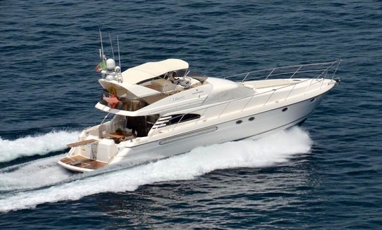 Fairline Squadron 60 In Sorrento, Italy