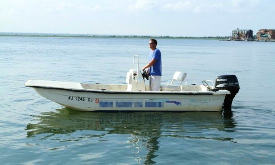 Rent A 3 Person Skiff In Margate City, New Jersey
