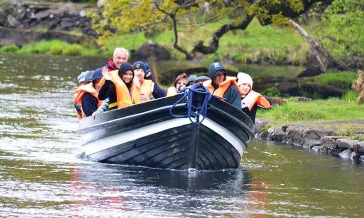 See the Gap Of Dunloe in Killarney, Ireland on Canal Boat