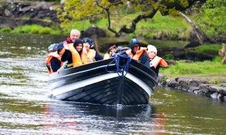 See the Gap Of Dunloe in Killarney, Ireland on Canal Boat