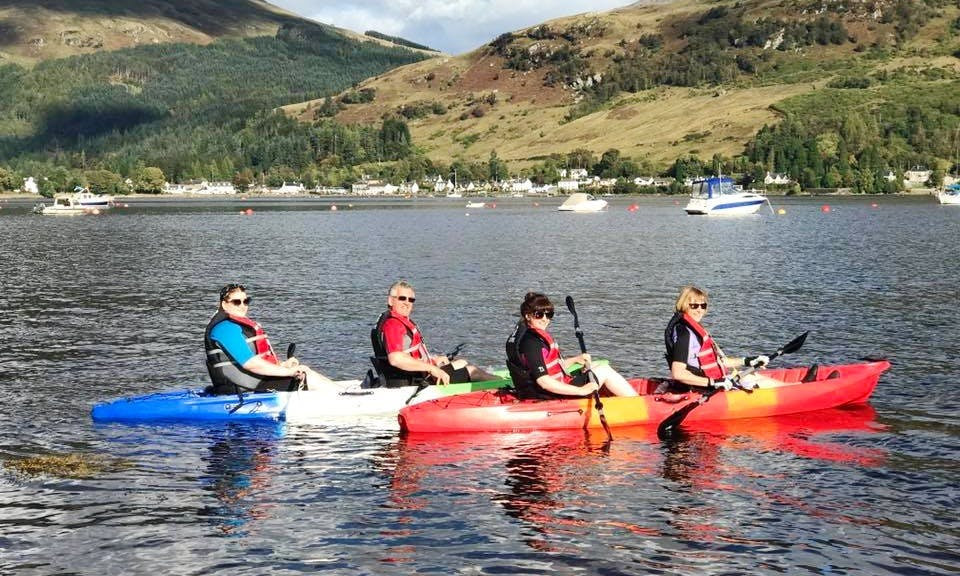 Hire a Double Kayak in Lochgoilhead, Scotland