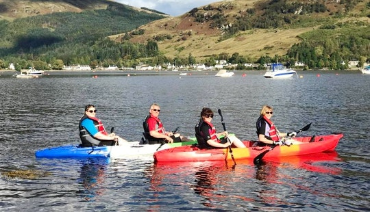 Hire A Double Kayak In Lochgoilhead, Scotland