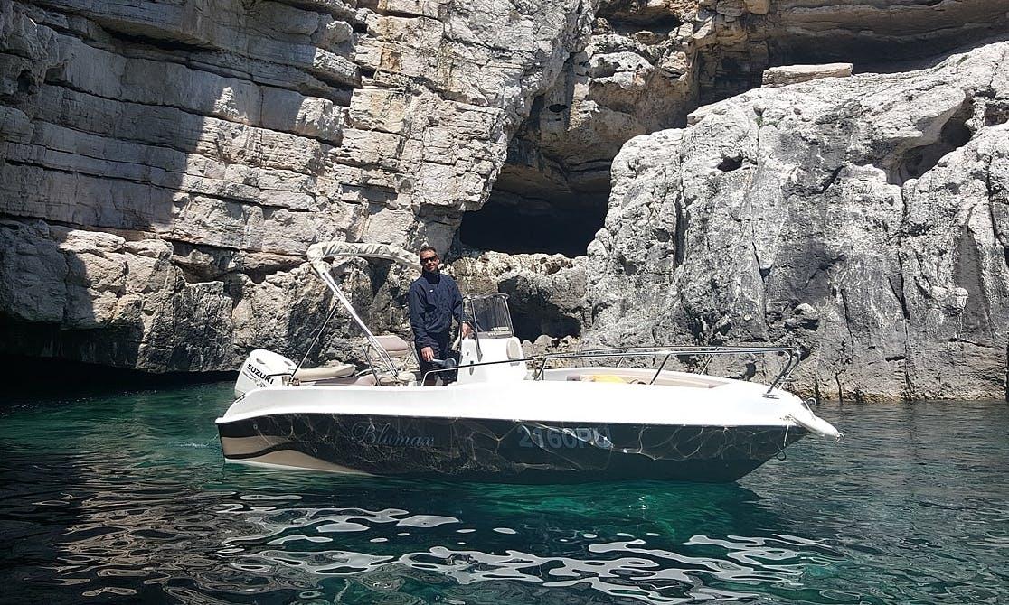 Rent 19' Bluemax 2 Bowrider in Fažana, Istria County