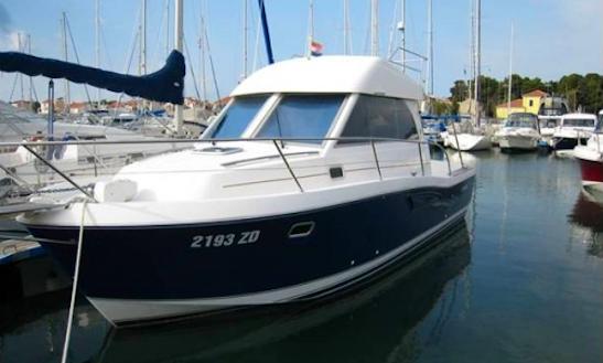 Charter 30' Beneteau Antares Motor Yacht In Punat, Croatia