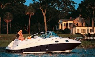 Rent 26' Sea Ray Sundancer 249 KK Motor Yacht in Punat, Croatia